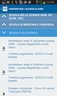 UNIPA in tasca- screenshot thumbnail