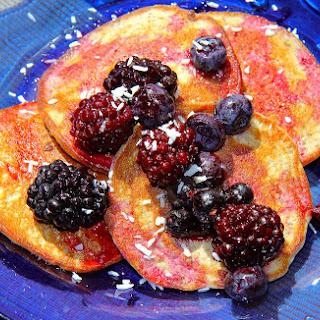 2 Ingredient Protein Pancakes - Gluten Free, Paleo.