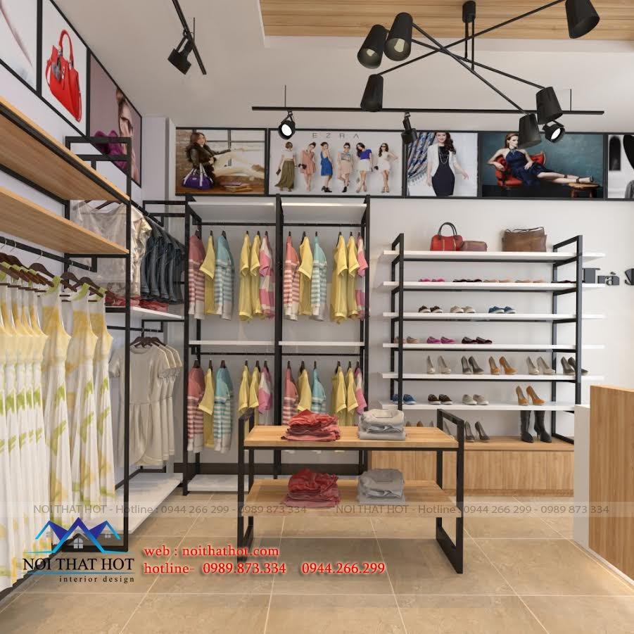 thiết kế shop thời trang nữ chắc chắn