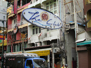"""Photo: """"The Club"""" is the place to be at night onKhao San Road"""