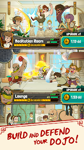 Kung Fu Clicker: Idle Dojo Mod Apk (Free Shopping + God Mode) 1