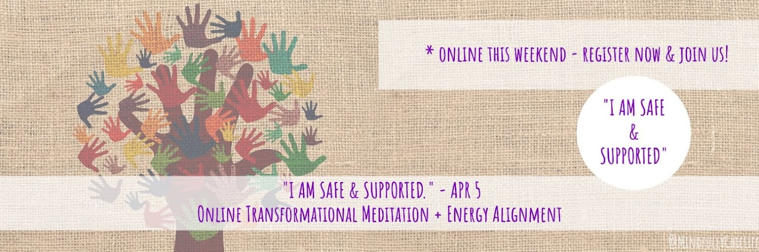"""I am Safe & Supported"" 
