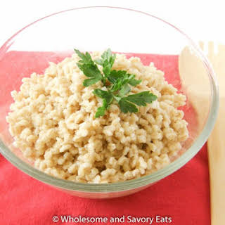 Quick Cooking Barley Recipes.