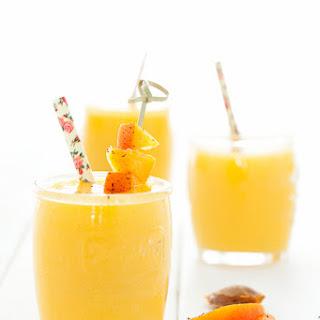 Apricot Mango Smoothie.