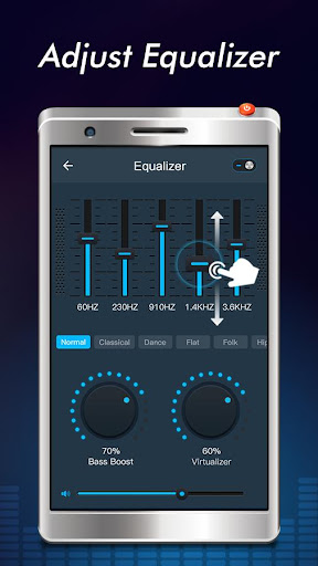 Screenshot for Free Music - MP3 Player, EQ & Volume Booster in United States Play Store