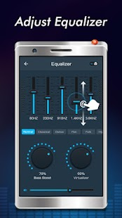 Free Music - MP3 Player, EQ & Volume Booster Screenshot