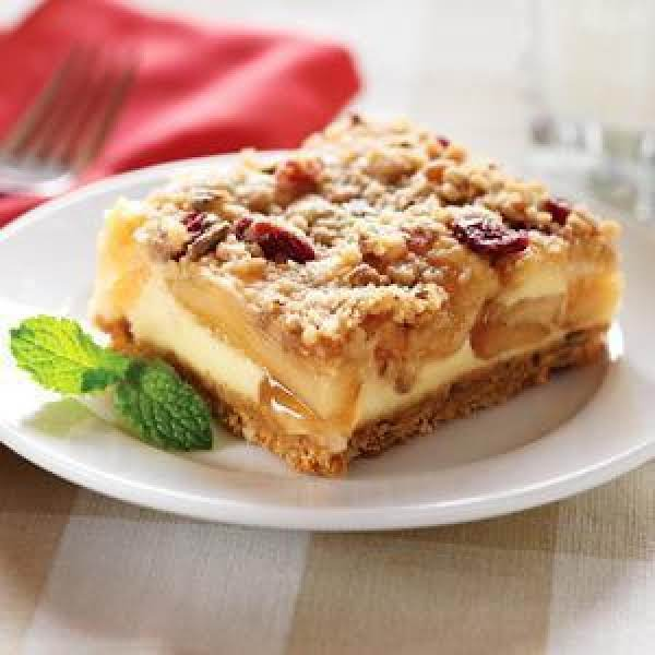 Harvest Apple Streusel Squares By Eagle Brand Recipe