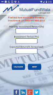 MutualFundWala- screenshot thumbnail