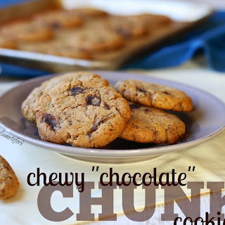 "Chewy ""Chocolate"" Chunk Cookies"