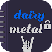 Free Download Dairy metal : Notepad APK for Samsung
