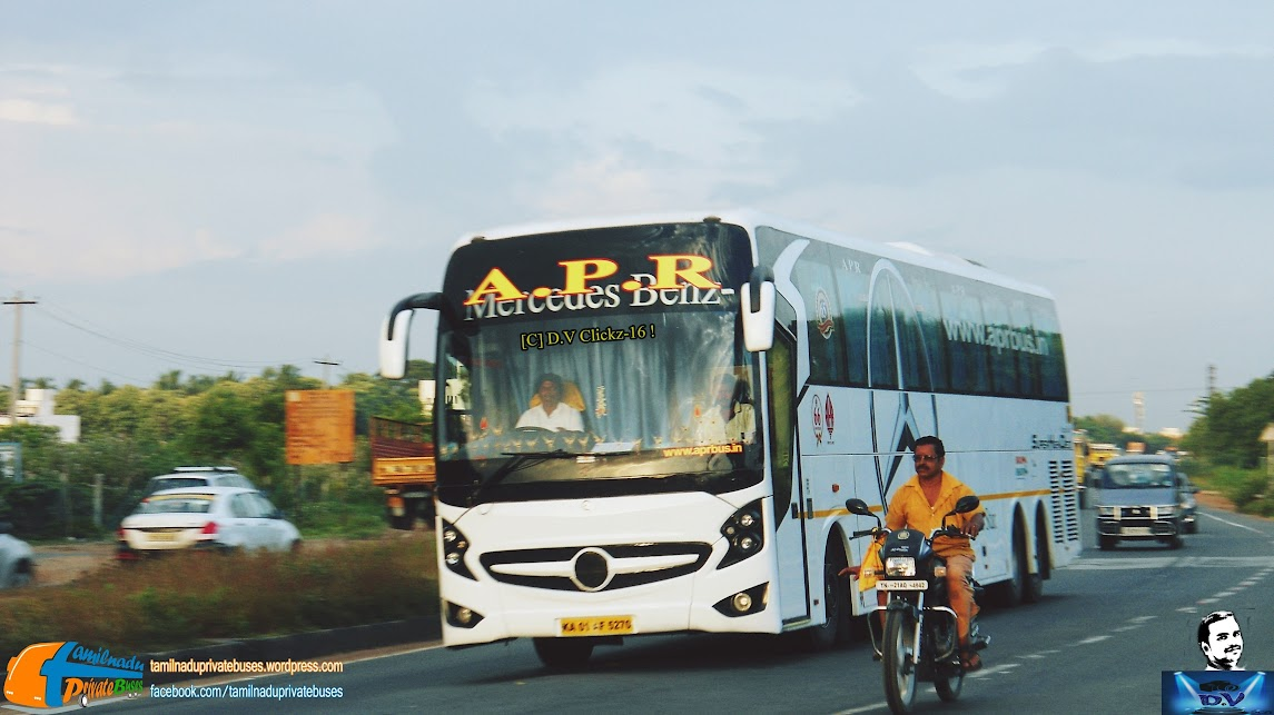 APR Travels 15M benz in chennai to bangalore route | TamilNadu Private Buses