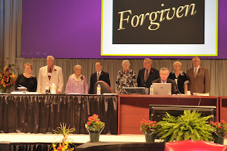 Photo: The 2010 Veteran Missionary Honorees