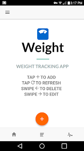 Weight Watching Log - náhled