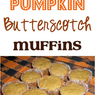 Pumpkin Butterscotch Muffins