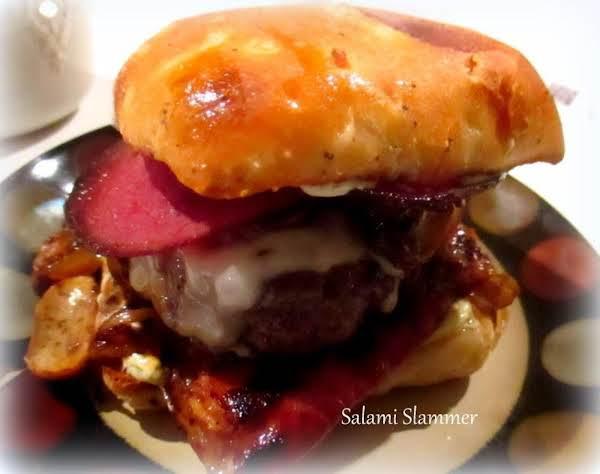 ~ My Salami Slammer ~ Recipe