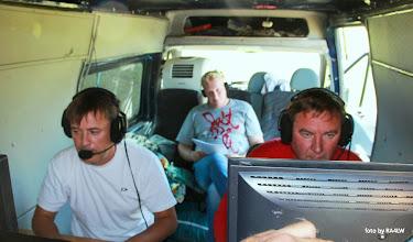 """Photo: фото в прыжке с фургона, к сожалению другой """"резкой"""" нет, а команда есть ))"""