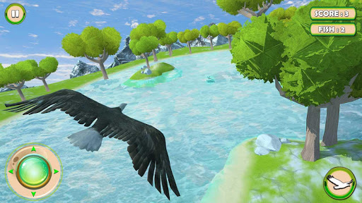 Golden Eagle Survival Simulator: Fish Hunting 3D 1.2 screenshots 1