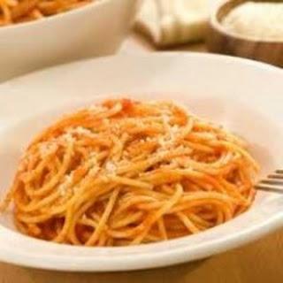 Easy One-Pot Pasta.
