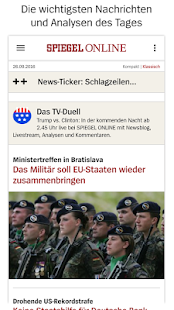 SPIEGEL ONLINE - News Screenshot 1