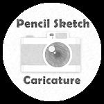 Pencil Sketch Caricature Icon