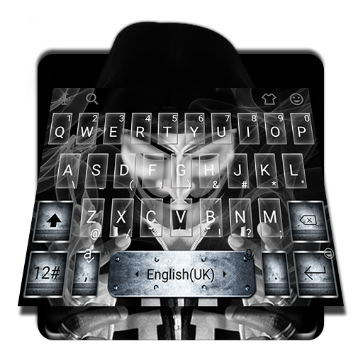 Anonymous Mask Vapor Keyboard Theme Android APK Download Free By Bs28patel