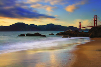 Photo: Taken a couple weeks back when I was in San Francisco. I wish I would have had more time there to get a few more shots of the Golden Gate Bridge. I didn't realize how difficult it would be to access it without a car!
