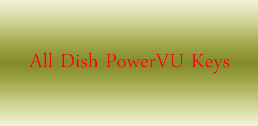 All Dish Channels PowerVU Key - Apps on Google Play