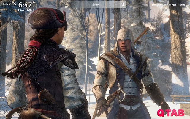 Assassins Creed 3 Wallpapers Fullhd New Tab