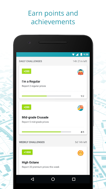 #3. GasBuddy: Find Cheap Gas (Android)