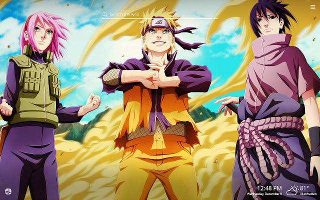 Naruto HD Wallpapers New Tab Theme