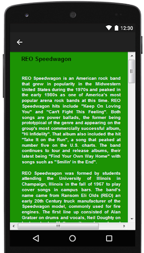 REO Speedwagon Songs & Lyrics.
