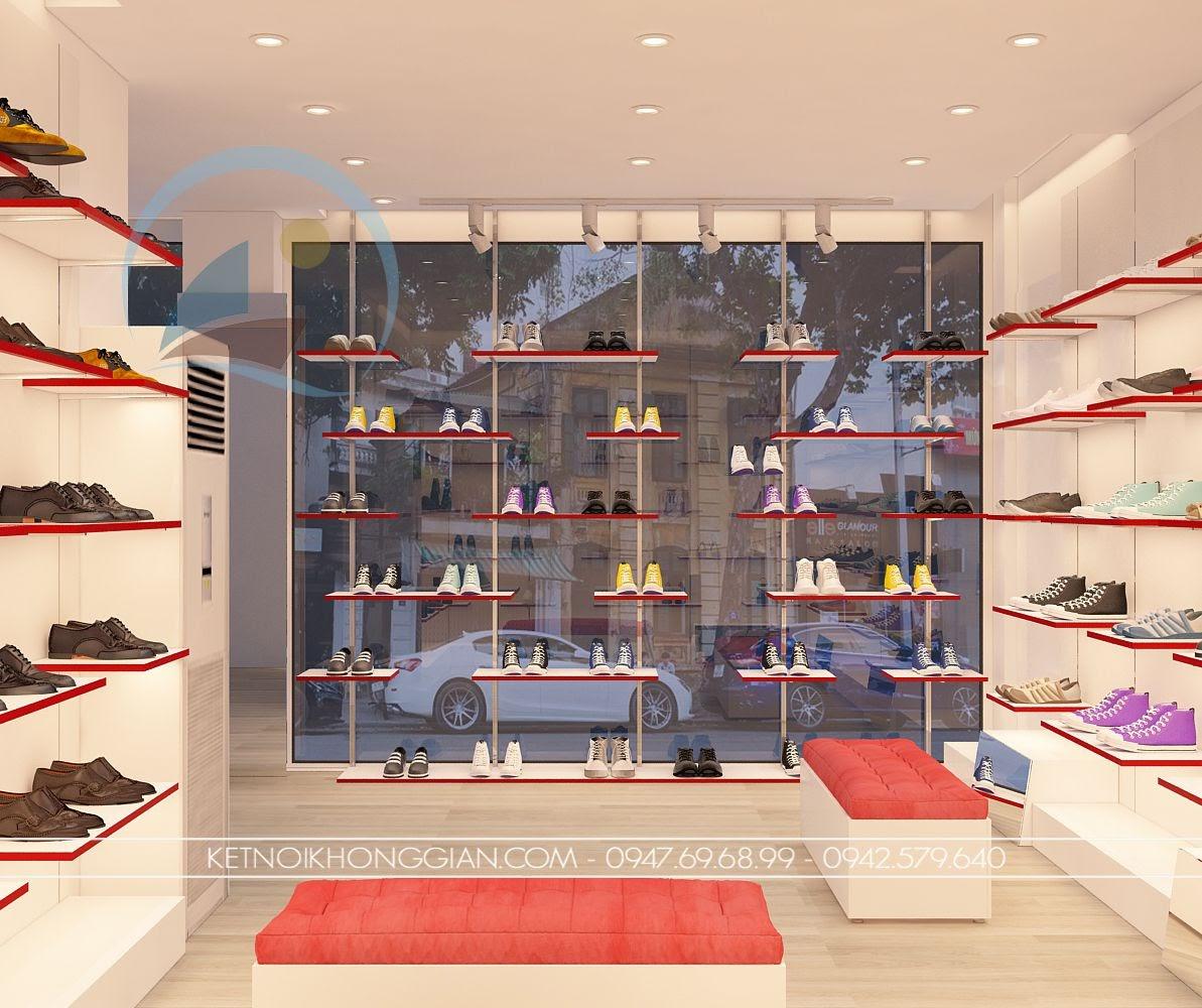 thiết kế shop giày dép 2