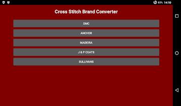 Cross Stitch Brand Converter - screenshot thumbnail 13
