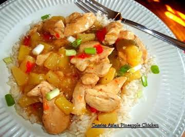 Cassies Asian Pineapple Chicken