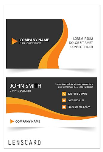 Lenscard -Business Card Maker 2.0.18 screenshots 8