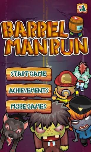 Barrel Man Run