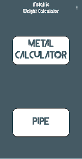 Download Metalic Weight Calculator For PC Windows and Mac apk screenshot 1
