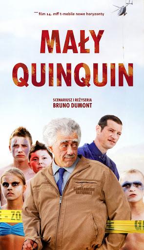 Przód ulotki filmu 'Mały Quinquin'
