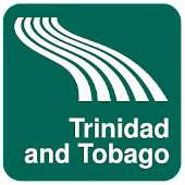 Trinidad and Tobago Map