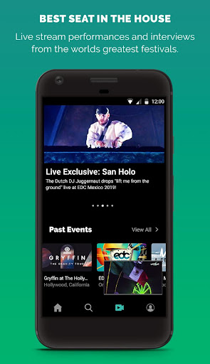 LiveXLive - Streaming Music and Live Events 8.2.2 screenshots 2