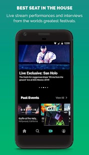LiveXLive - Streaming Music and Live Events Screenshot