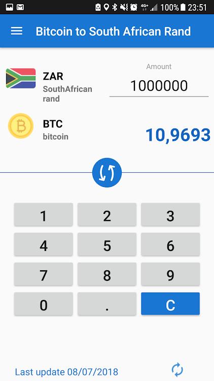 1 btc zar ar galite nusipirkti bitcoin su kredito kortele