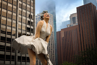 Photo: Marilyn  Chicago is definitely too windy :)