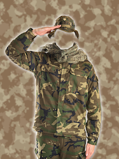 Indian Army Photo Suit : Uniform Changer - náhled