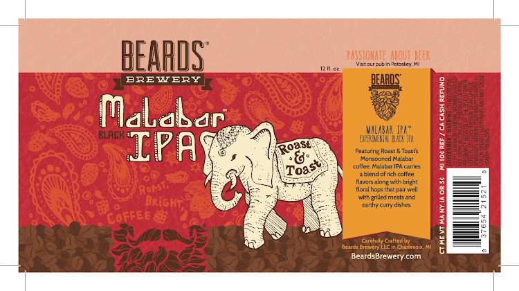 Logo of Beards Malabar IPA