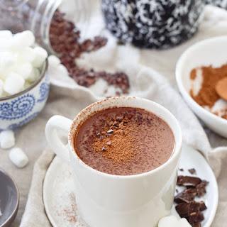 Tart Cherry Hot Chocolate.
