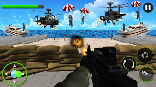 玩免費動作APP 下載コマンドーのシューティング戦争ゲーム app不用錢 硬是要APP