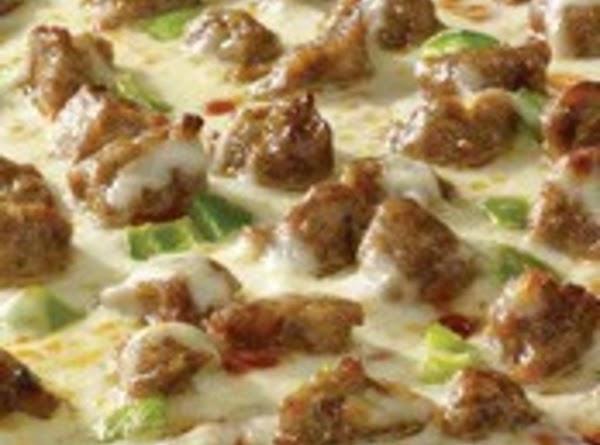 Italian Sausage Pizza Recipe