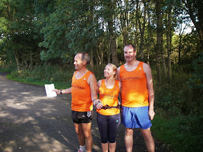 Photo: Wingate to Maiden castle runners