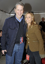 "Photo: WASHINGTON, DC - OCTOBER 30: MTV Entertainment Group President Doug Herzog and Sheryl Crow backstage at the ""Rally to Restore Sanity And/Or Fear"" at the National Mall on October 30, 2010 in Washington, DC. (Photo by Frank Micelotta/Getty Images)"